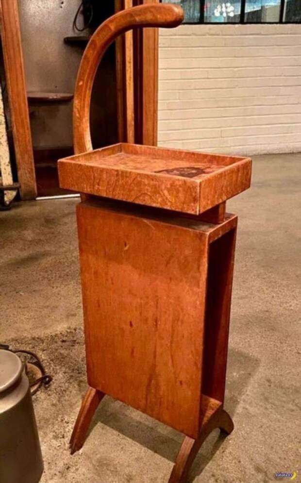 Странный предмет мебели