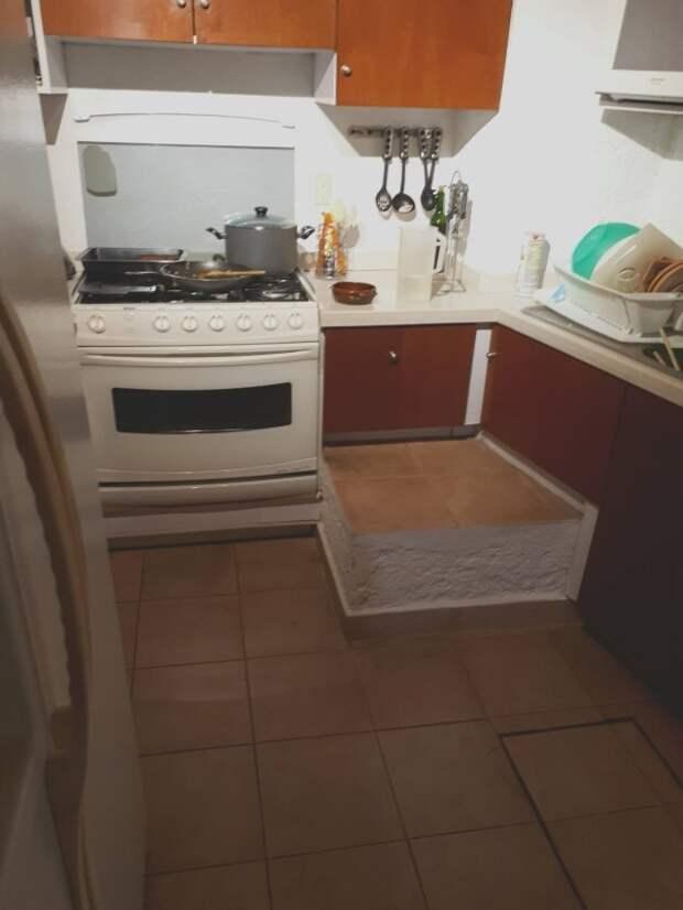 Это не лишняя плита... дизайн, ляпы, подборка, ремонт, строительные маразмы, строительство, фото, юмор