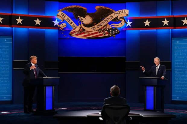 """""""Щенок Путина"""" и """"Тупее пробки"""" - первые дебаты в Америке"""