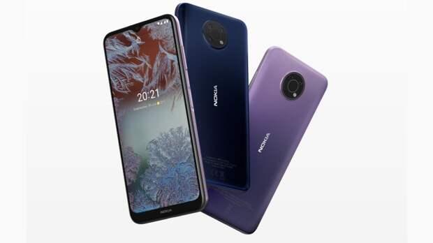 Новые смартфоны Nokia C20 и Nokia G10 появились на российском рынке
