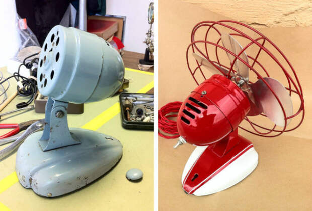 Новый цвет старого вентилятора. | Фото: AdictaMente.
