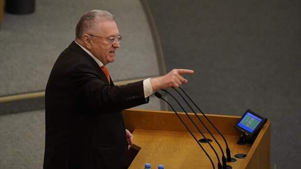 Жириновский назвал ЛДПР «девственницей на политическом поле»