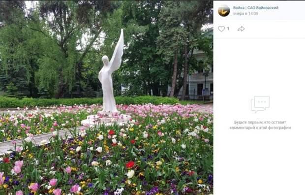 Фото дня: яркий летний пейзаж в парке имени Воровского