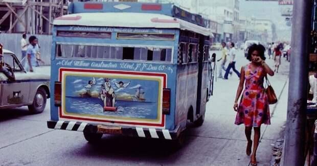 31 цветная фотография, документирующая жизнь Гаити в 1970-е