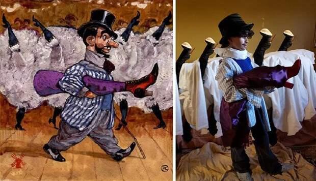 Самые сногсшибательные косплеи произведений искусства группы Изоизоляция