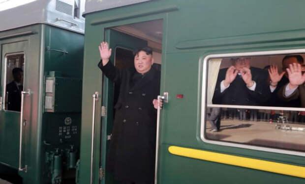 Личный бронепоезд Ким Чен Ына: смотрим устройство