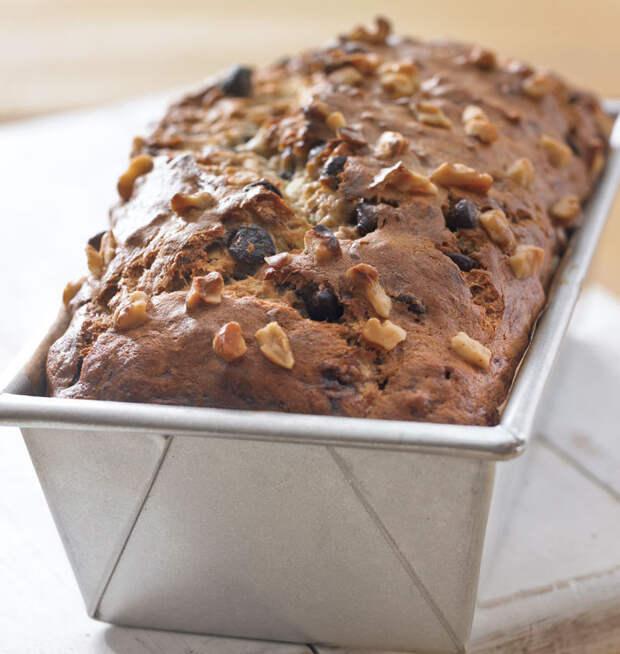 Ореховый бездрожжевой хлеб