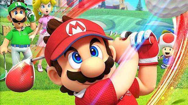 Игровая индустрия - Более 5 минут игрового процесса Mario Golf: Super Rush