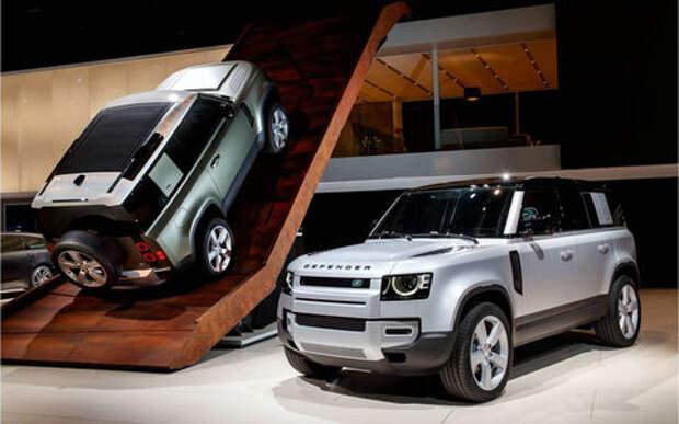 Новый Land Rover Defender и его 170 аксессуаров