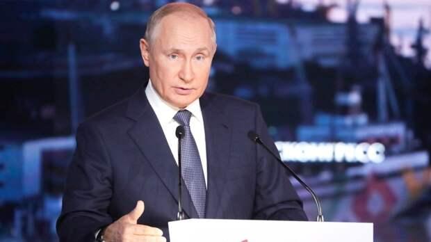 Путин указал на необходимость присутствия в парламенте авторитетных людей