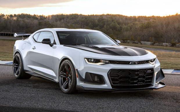 Жгун: в США дебютировал самый быстрый Chevrolet Camaro