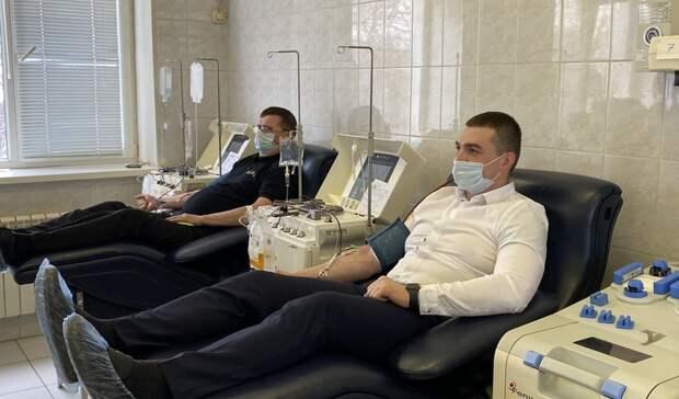 12 тысяч жителей Волгоградской области стали почётными донорами России