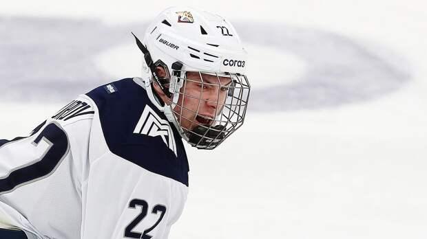 Нападающий «Металлурга» Юров стал вторым самым юным автором гола в истории плей-офф КХЛ: видео