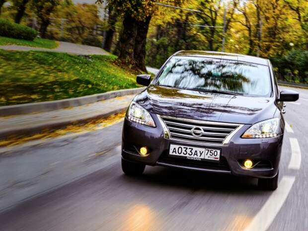 Тест Nissan Sentra: СЕНТРАбежная сила