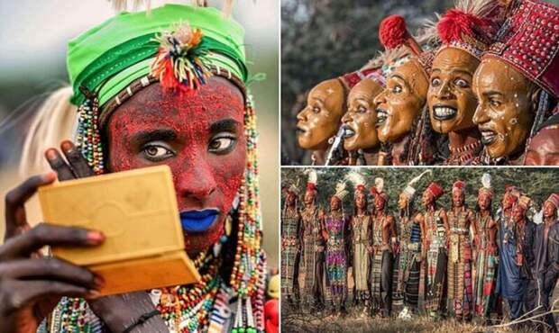 Как проходит конкурс красоты среди мужчин племени водаабе, который судят девочки-подростки