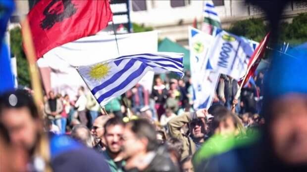 Профсоюзы проведут в Уругвае забастовку против ухудшения условий жизни