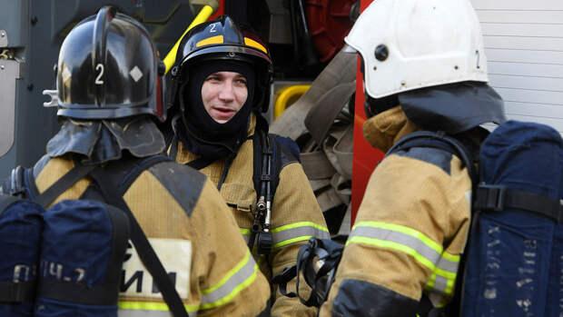 Пожар в общежитии Военного университета Минобороны в Москве потушен
