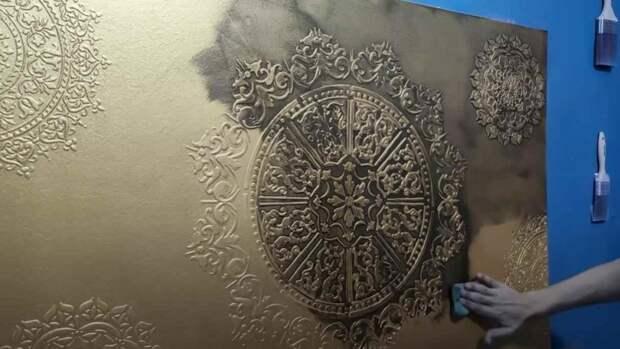 Декоративная отделка своими руками: как оригинально задекорировать поверхность стены