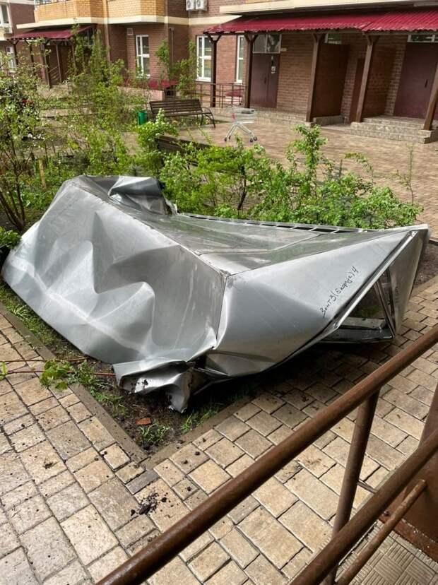 По Москве и области прошелся ураган