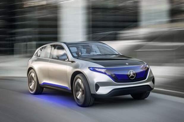 Кроссовер Mercedes-Maybach доедет до розетки