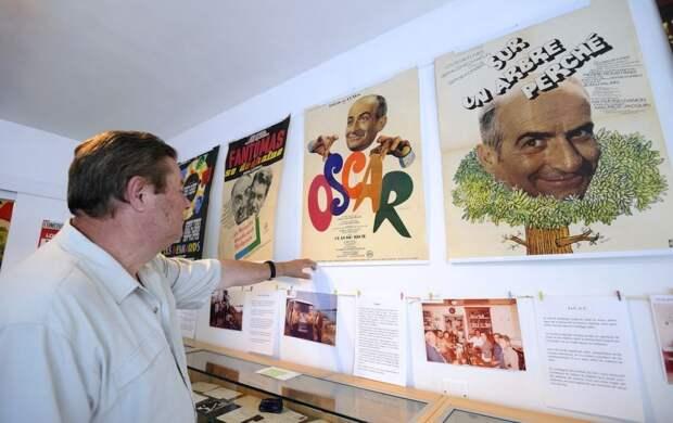 Музей Луи де Фюнеса открылся во Франции к 100-летию со дня рождения актера