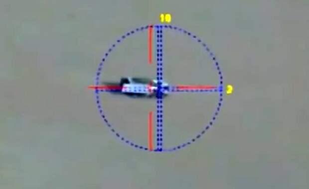 Опубликовано видео снайперской работы российской артиллерии в Сирии
