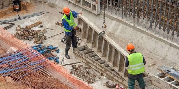 Началось строительство эстакады на пересечении СВХ с Лухмановской улицей