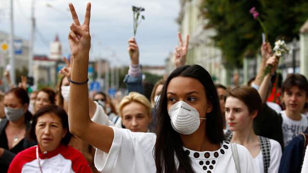 Жители Минска вновь выходят на стихийные акции протеста