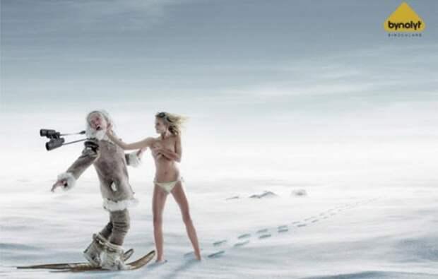 Смешная креативная реклама (10 фото)