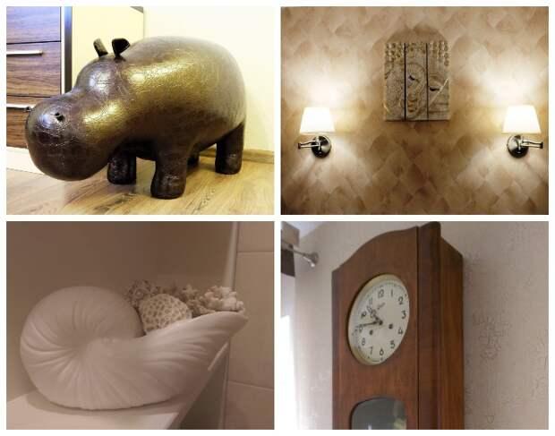 Каждый предмет интерьера и декор подбирался с особой тщательностью.