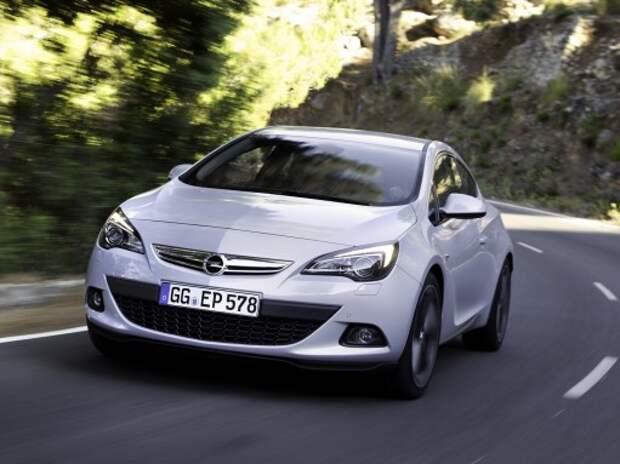 Opel назвал цену Astra GTC с двигателем 1.6 ECOTEC