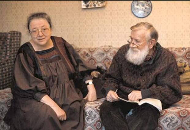 Мария Розанова и Андрей Синявский. / Фото: www.etazhi-lit.ru