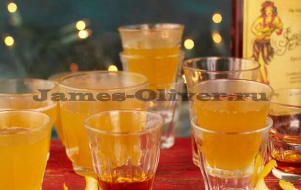Горячий имбирный домашний лимонад