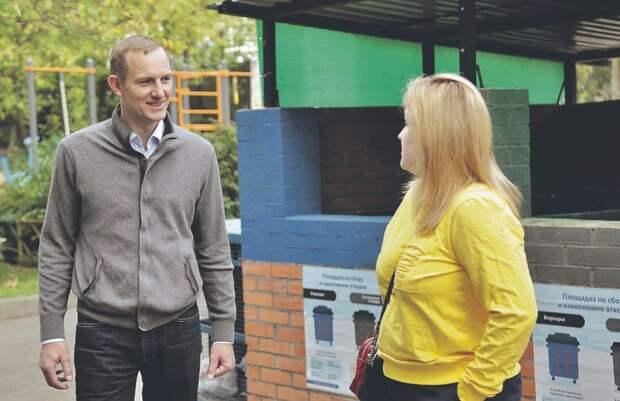 Пилотный проект по раздельному сбору мусора реализуется в Алтуфьеве и Отрадном