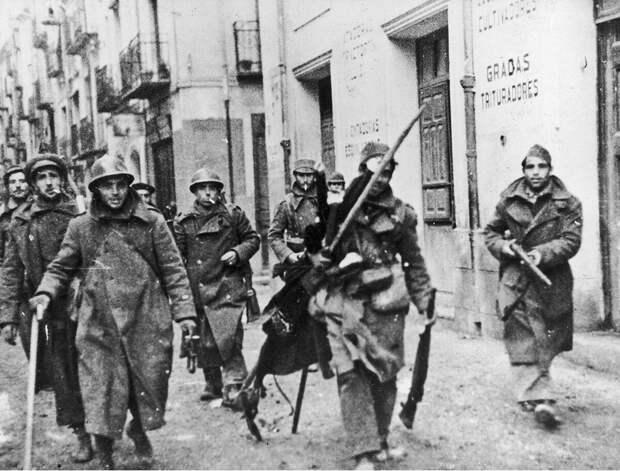 Республиканские солдаты Народного фронта Испании. Общественное достояние
