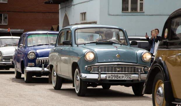 Автопробег в память погибших в ВОВ состоялся под Нижним Тагилом