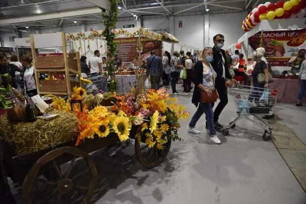 На «Кубанской ярмарке-2020» реализовали продукцию на 90 млн рублей