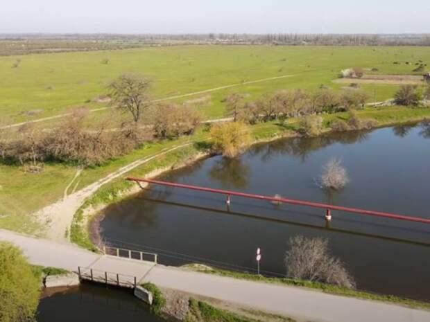 СМИ: в Северо-Крымский канал начала поступать вода из Украины
