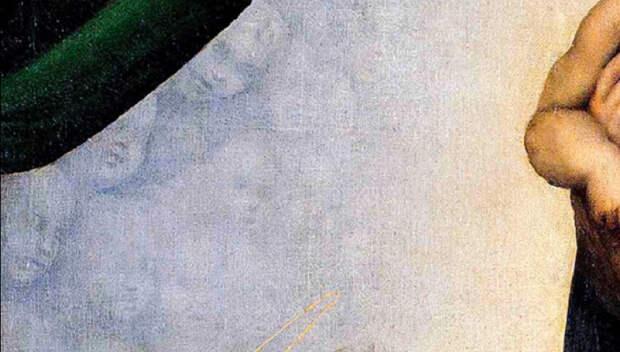 9 секретных элементов, спрятанных на полотне «Сикстинская Мадонна»