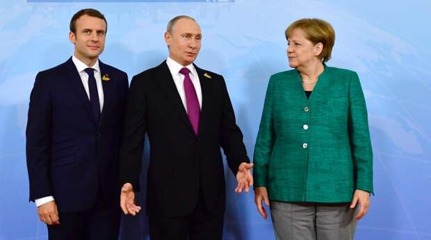 Путин, Макрон и Меркель жестко обломали Зеленского