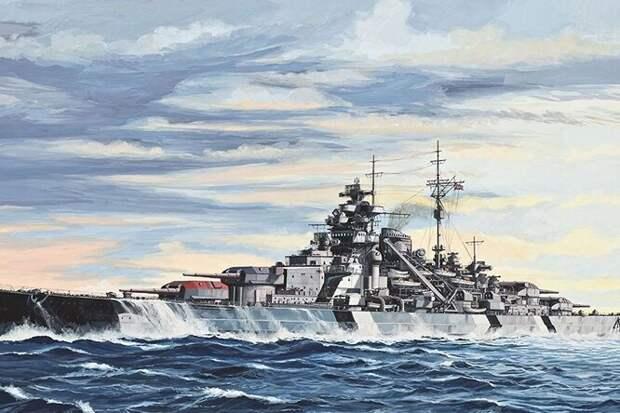Закат эпохи сверхдредноутов: линкор «Бисмарк»
