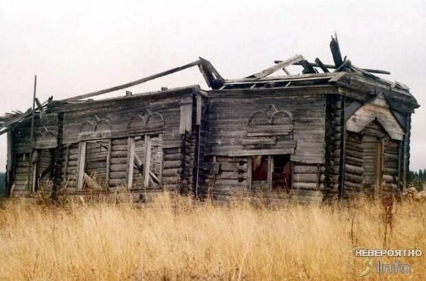 Исчезновение жителей деревни Растесс