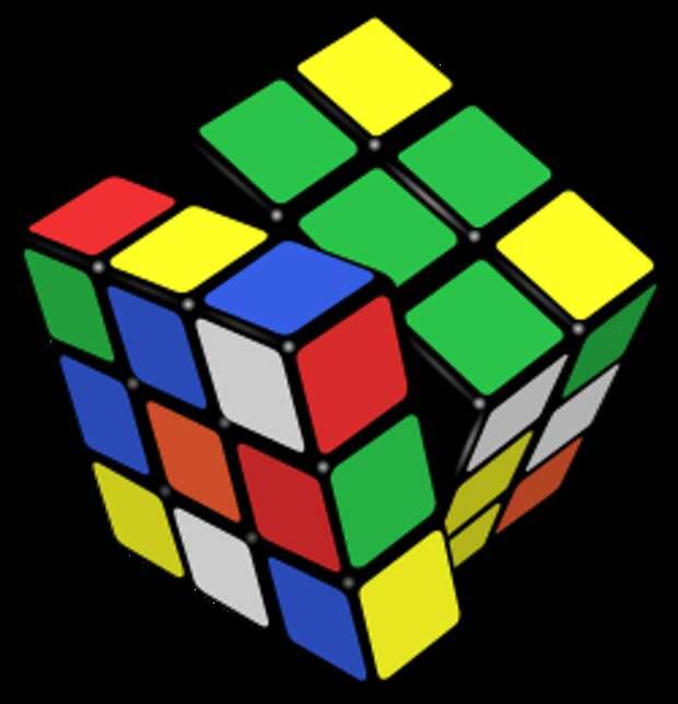 Съедобный кубик Рубика