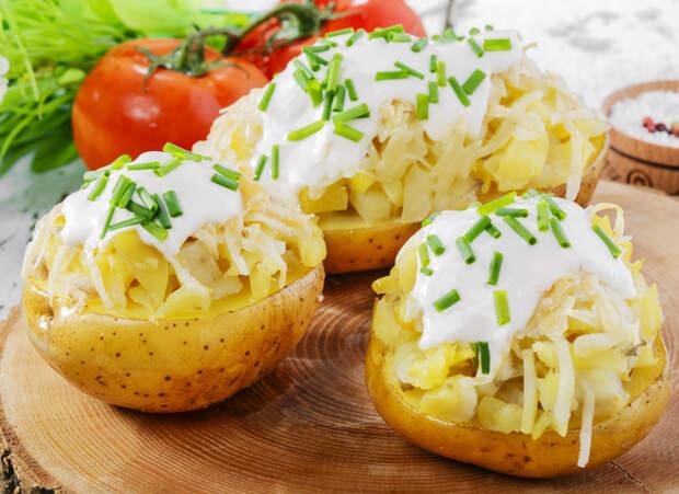 Запечённый фаршированный картофель: оригинальный рецепт Григория Германа