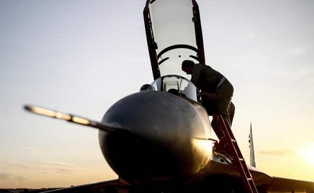 На фото: многофункциональный фронтовой истребитель МиГ-35