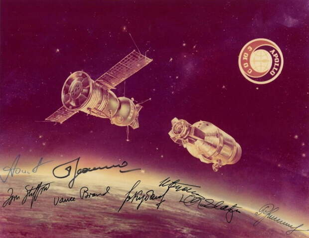 «Союз – Аполлон». Рукопожатие на орбите