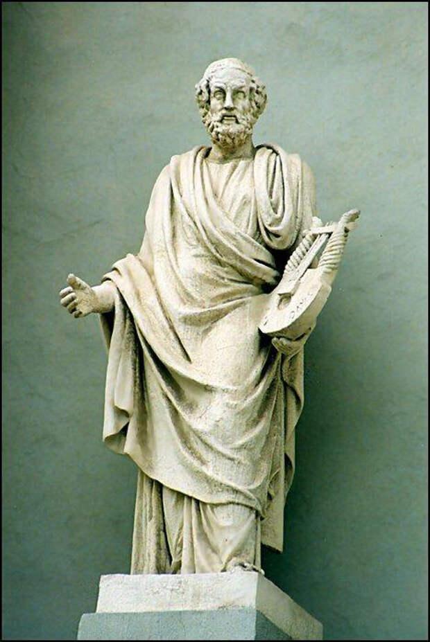 Великий бард античности - Гомер.