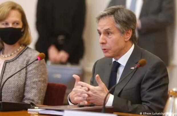 Блинкен заявил о поддержке США суверенитета Украины