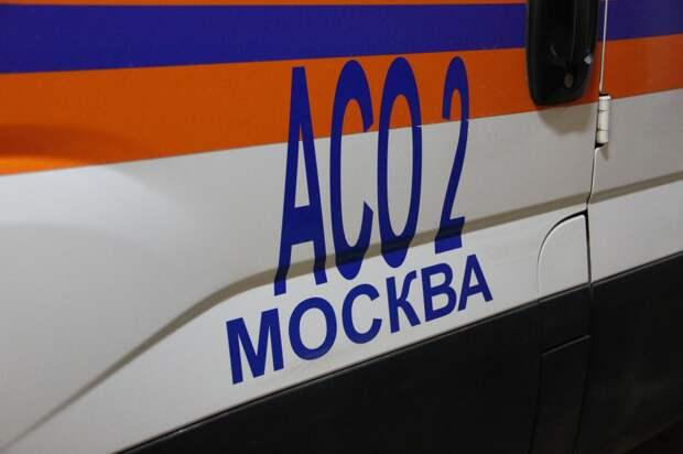 Спасатели столичного АСО-2 оказали помощь пожилому мужчине