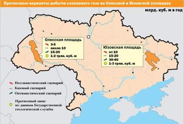 Сланцевый газ Украины. Burisma и компания
